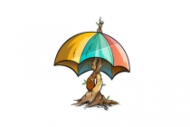 Umbrella Tree Logo