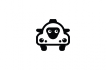Black Sheep Taxi Logo