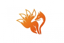 Fox With 4 Tails Logo