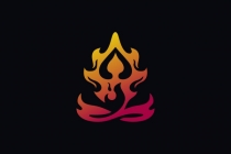 Meditation Fire Logo