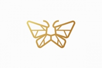 Lion Butterfly Logo
