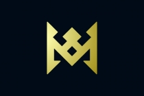 Luxury Letter M Crown...