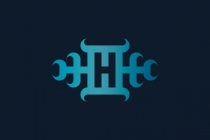 Horn Ornament H Logo