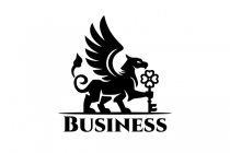 Gryphon With Key Logo
