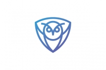 Owl Shield Logo