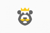 King Bear Head Logo