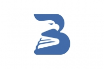 B And Eagle Logo