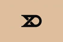 D And X Monogram Logo