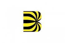 Striped B Logo