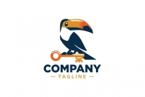 Toucan With Key Logo