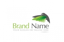 Green Sparrow Logo