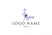 Purple Dragonfly Logo