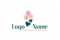 Lovely Rose Logo