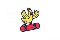 Chicken Skateboard...