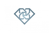 Diamond Flower Logo