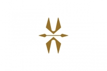 Luxury Letter Va Logo