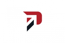 Letter P Arrow Logo